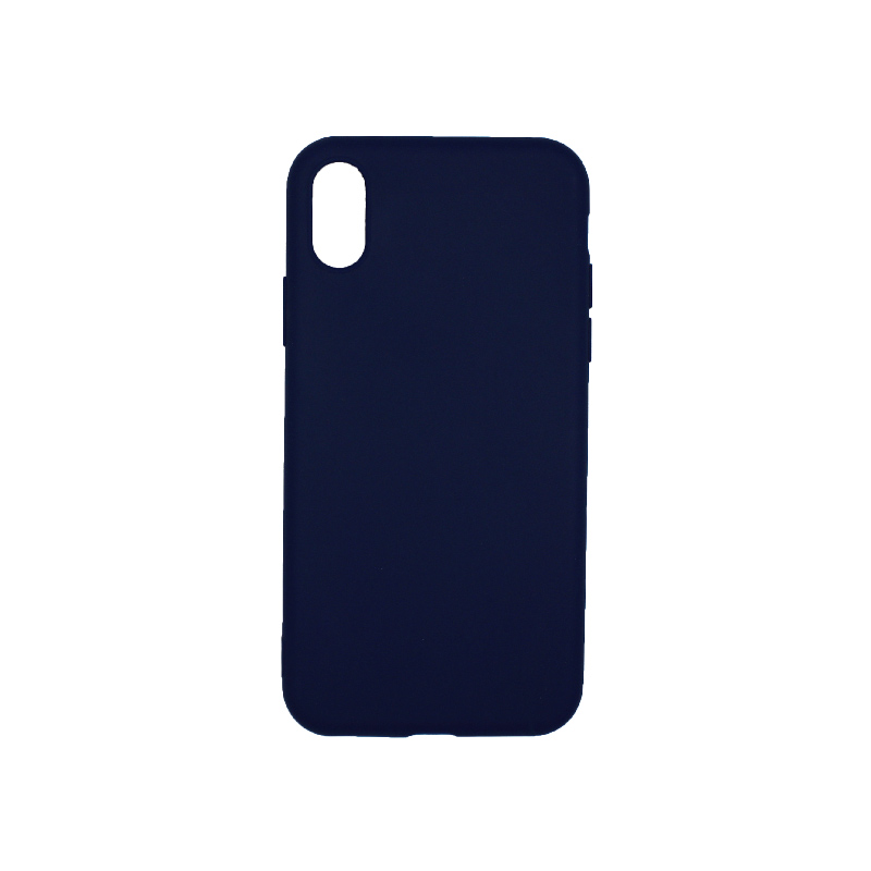θήκη iphone X / XS / XR / XSS MAX σιλικόνη dark blue
