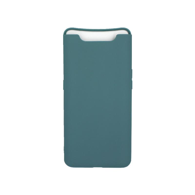 Θήκη Samsung Galaxy A80 / A90 Σιλικόνη πετρόλ