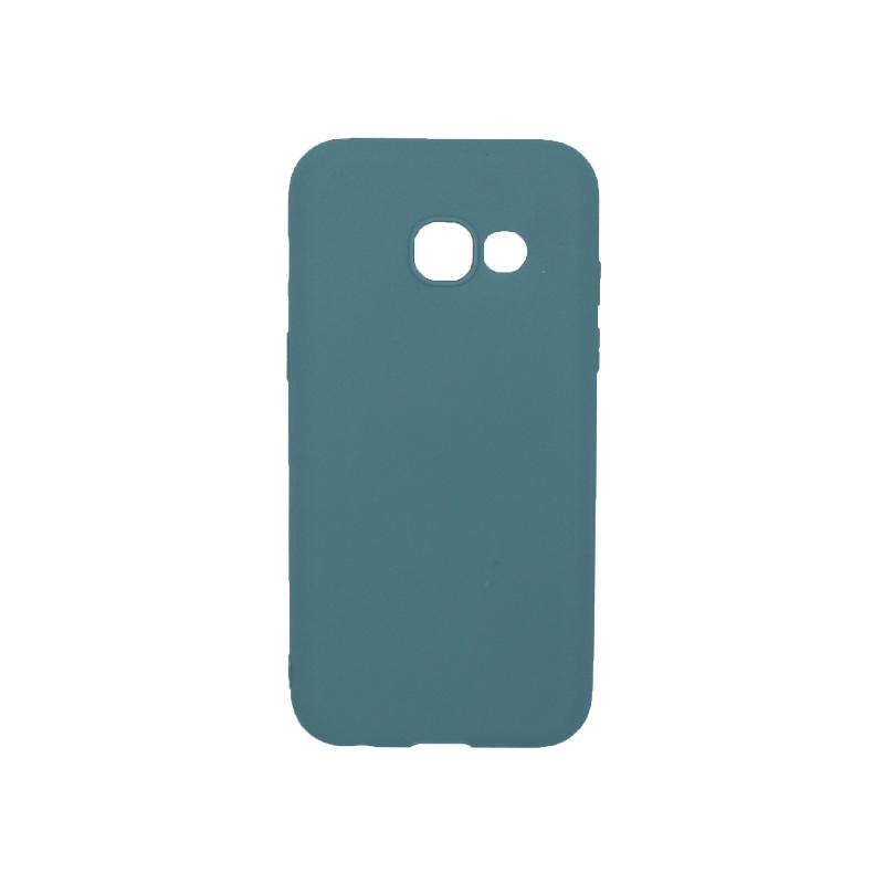 Θήκη Samsung Galaxy Α3 2017 Σιλικόνη πετρόλ
