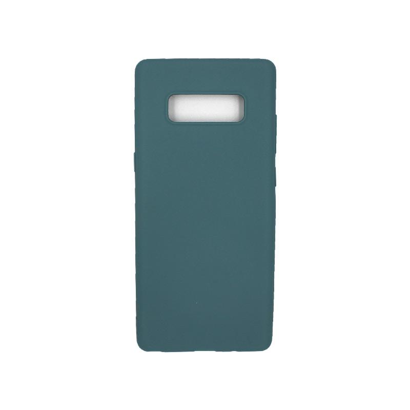 Θήκη Samsung Galaxy Note 8 σιλικόνη πετρόλ