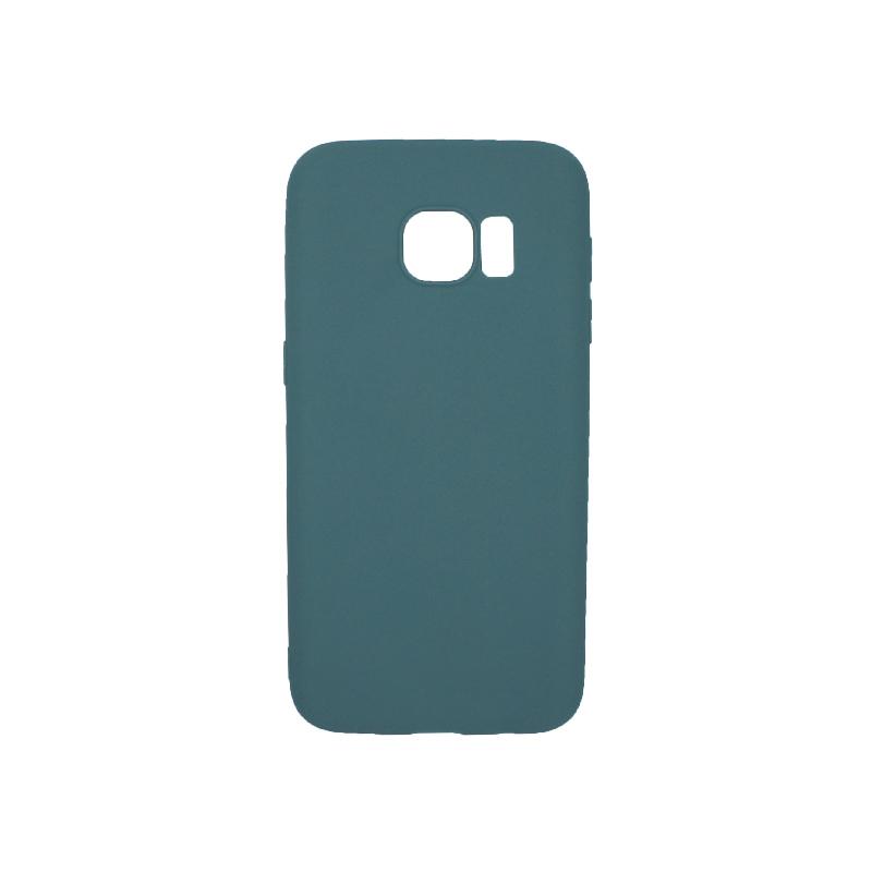 Θήκη Samsung Galaxy S7 Σιλικόνη πετρόλ