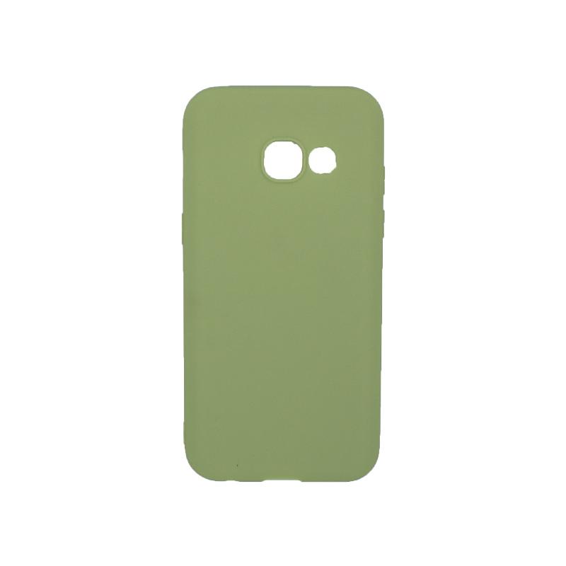Θήκη Samsung Galaxy Α3 2017 Σιλικόνη πράσινο