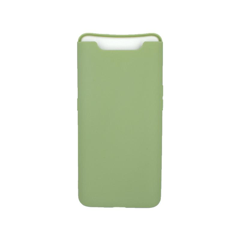 Θήκη Samsung Galaxy A80 / A90 Σιλικόνη πράσινο