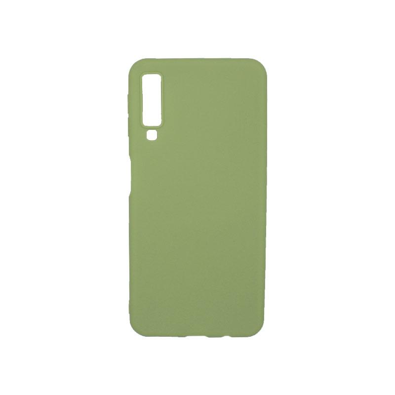 Θήκη Samsung Galaxy Α7 2018 Σιλικόνη πράσινο
