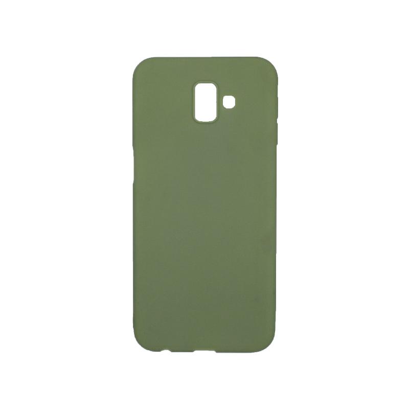 Θήκη Samsung Galaxy J6 Plus Σιλικόνη πράσινο