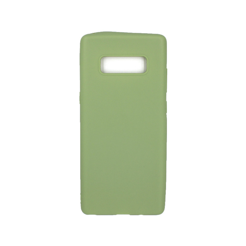 Θήκη Samsung Galaxy Note 8 σιλικόνη πράσινο
