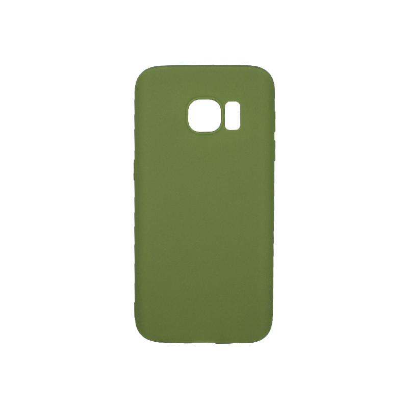 Θήκη Samsung Galaxy S7 Σιλικόνη πράσινο