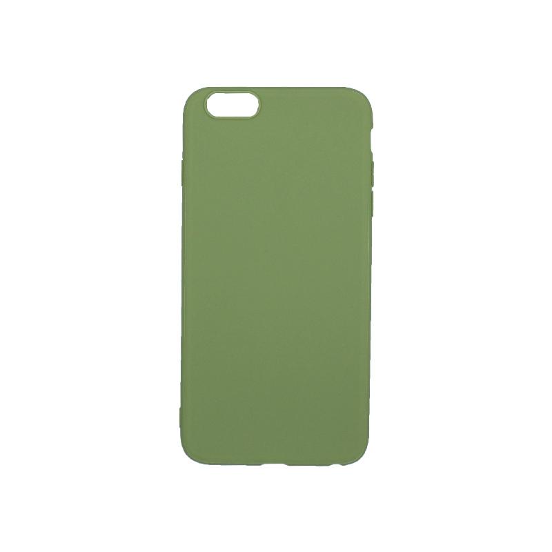 θήκη 6 plus σιλικόνη πράσινη