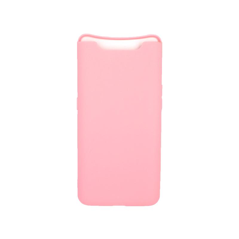 Θήκη Samsung Galaxy A80 / A90 Σιλικόνη ροζ