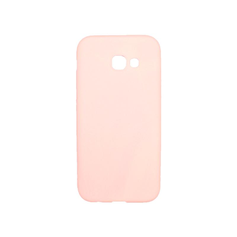 Θήκη Samsung Galaxy Α5 2017 Σιλικόνη ροζ