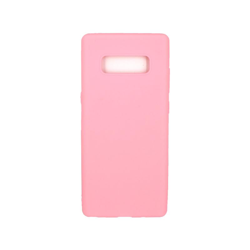 Θήκη Samsung Galaxy Note 8 σιλικόνη ροζ
