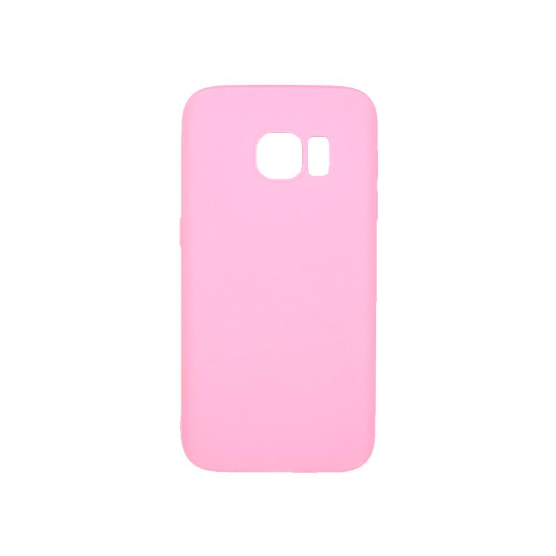 Θήκη Samsung Galaxy S7 Σιλικόνη ροζ