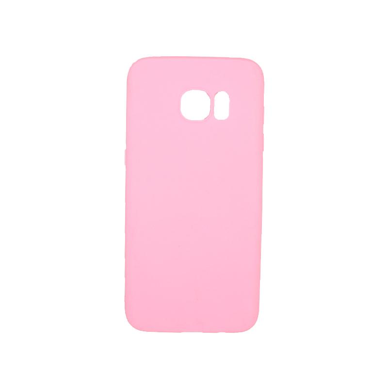Θήκη Samsung Galaxy S7 Edge Σιλικόνη ροζ