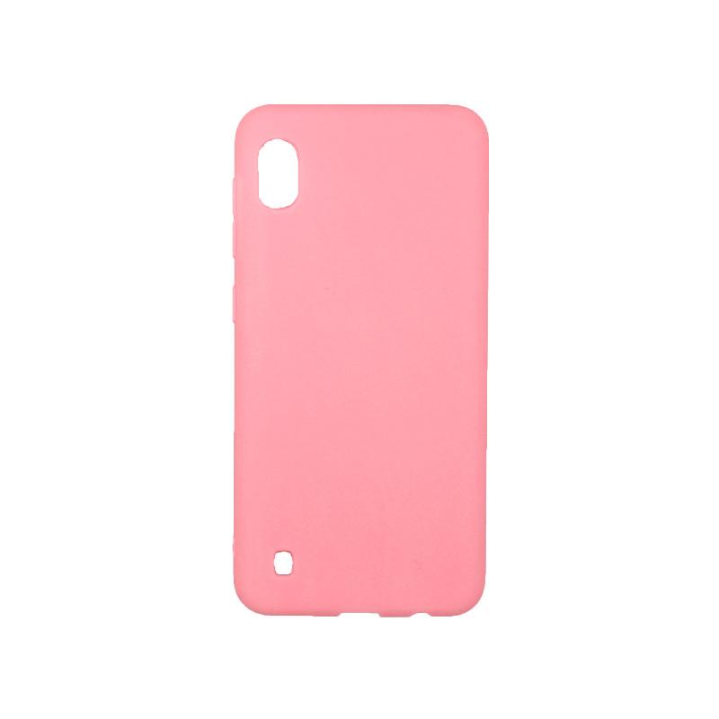 Θήκη Samsung Galaxy A10 / M10 Σιλικόνη ροζ