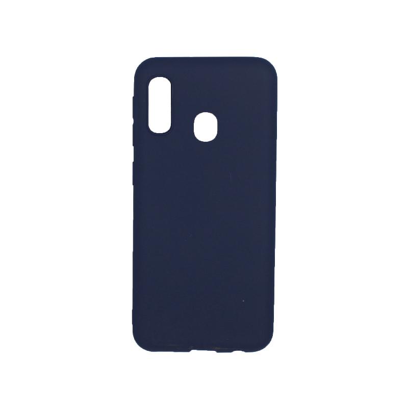 Θήκη Samsung Galaxy A10e / A20e Σιλικόνη σκούρο μπλε