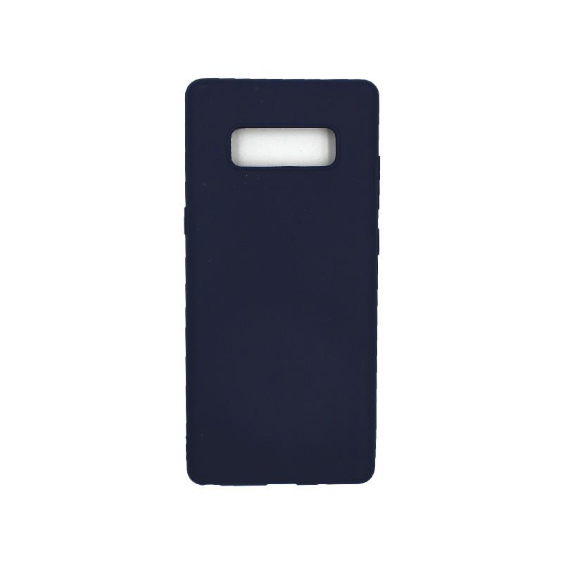 Θήκη Samsung Galaxy Note 8 σιλικόνη σκούρο μπλε