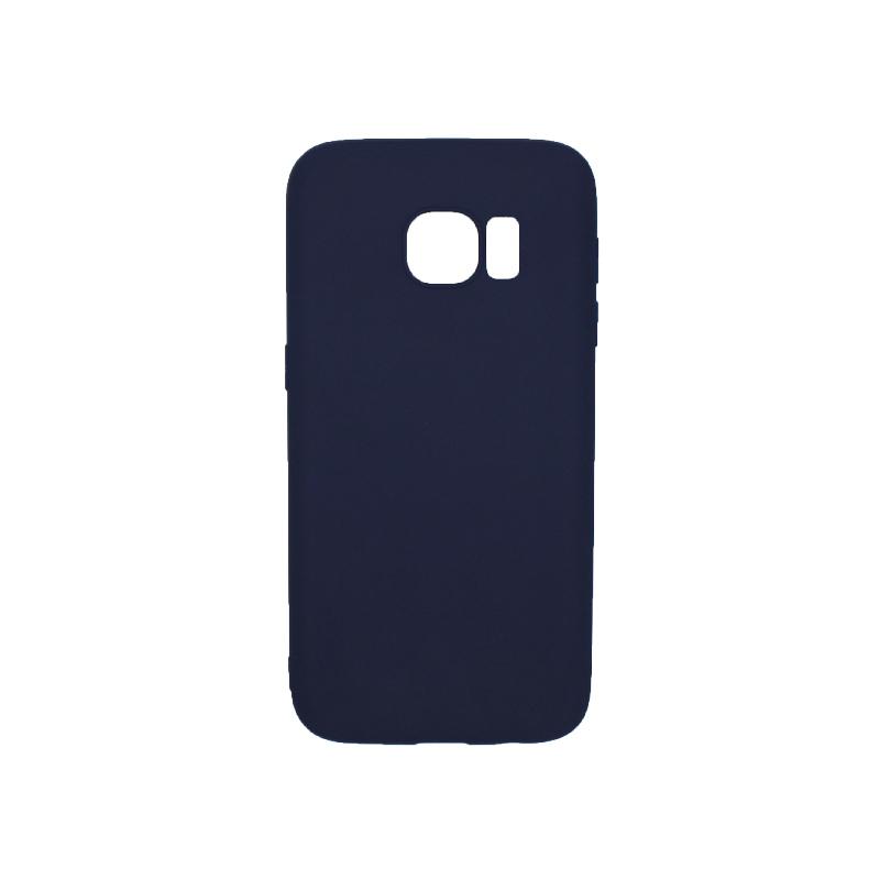 Θήκη Samsung Galaxy S7 Σιλικόνη σκούρο μπλε