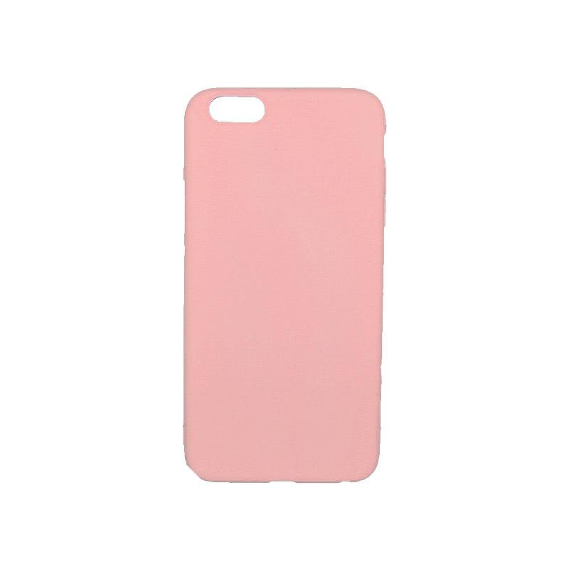 θήκη 6 plus σιλικόνη ροζ
