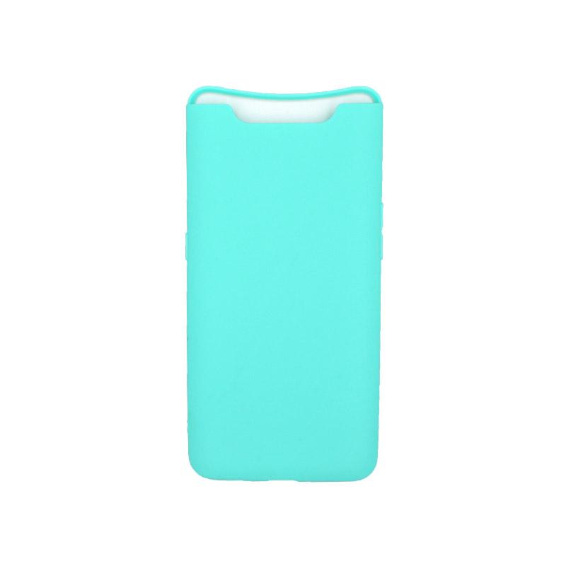 Θήκη Samsung Galaxy A80 / A90 Σιλικόνη τιρκουάζ