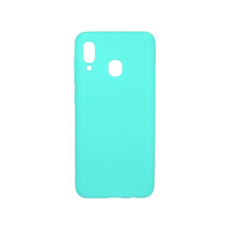 Θήκη Samsung Galaxy A20 / Α30 Σιλικόνη τιρκουάζ