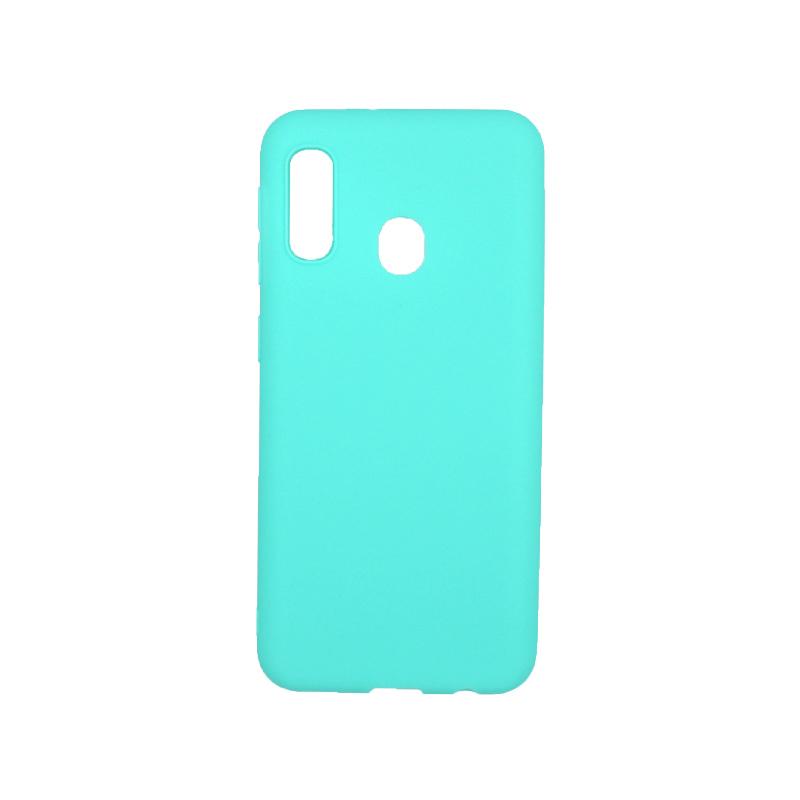 Θήκη Samsung Galaxy A10e / A20e Σιλικόνη τιρκουάζ