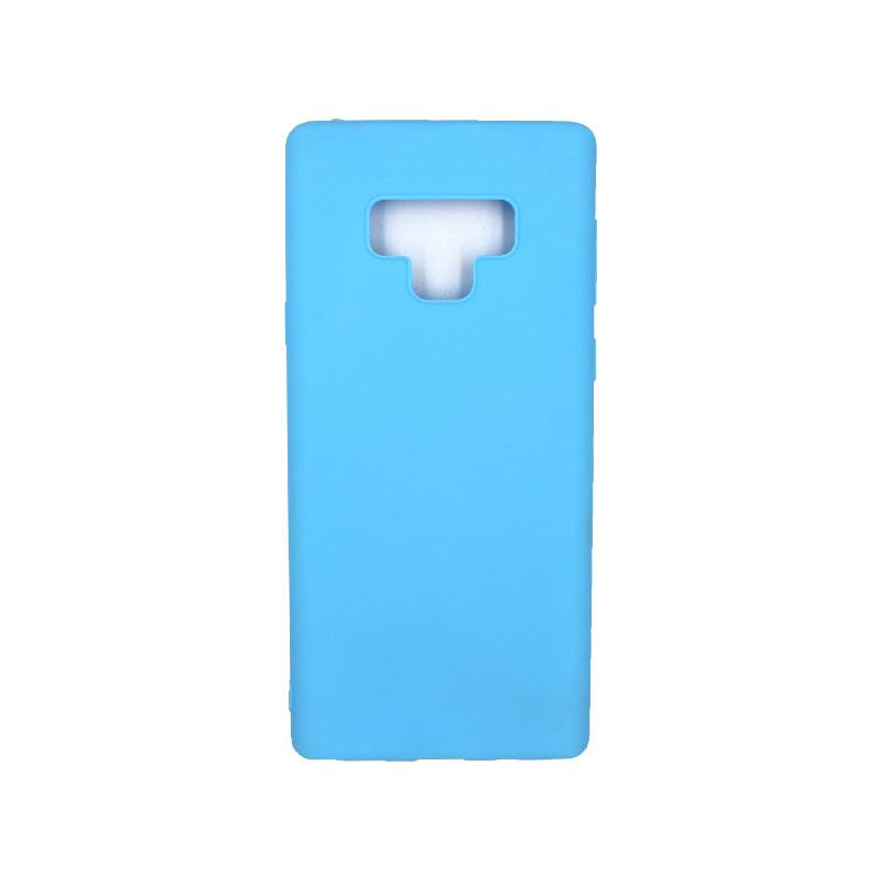 Θήκη Samsung Galaxy Note 9 σιλικόνη γαλάζιο