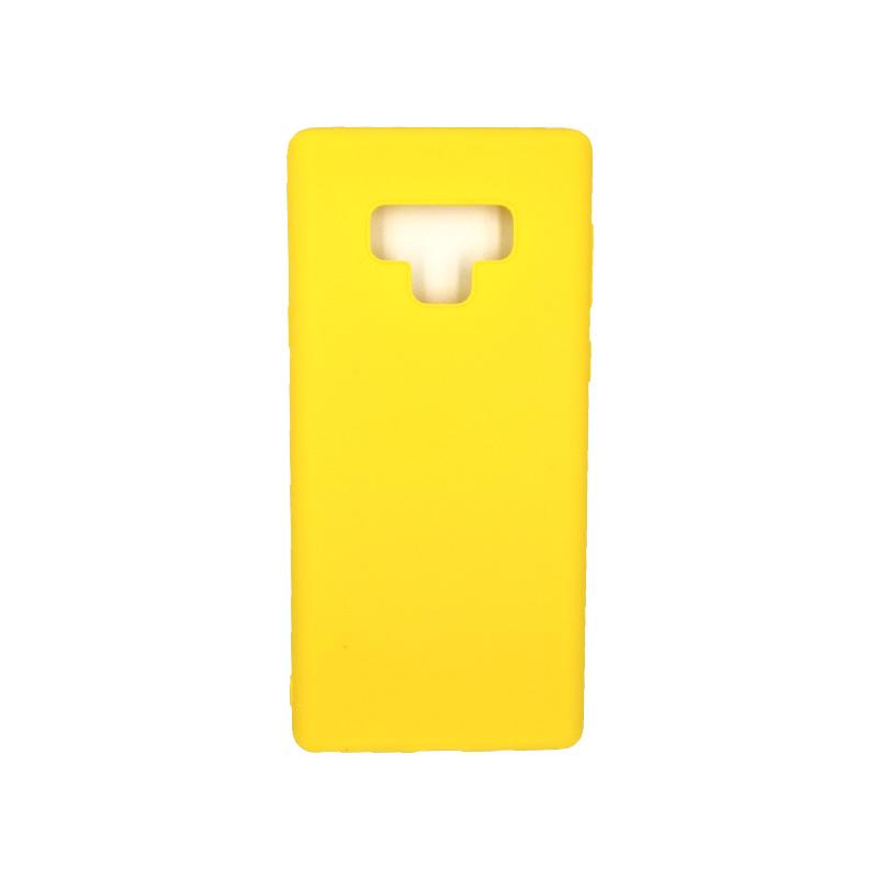 Θήκη Samsung Galaxy Note 9 σιλικόνη κίτρινο