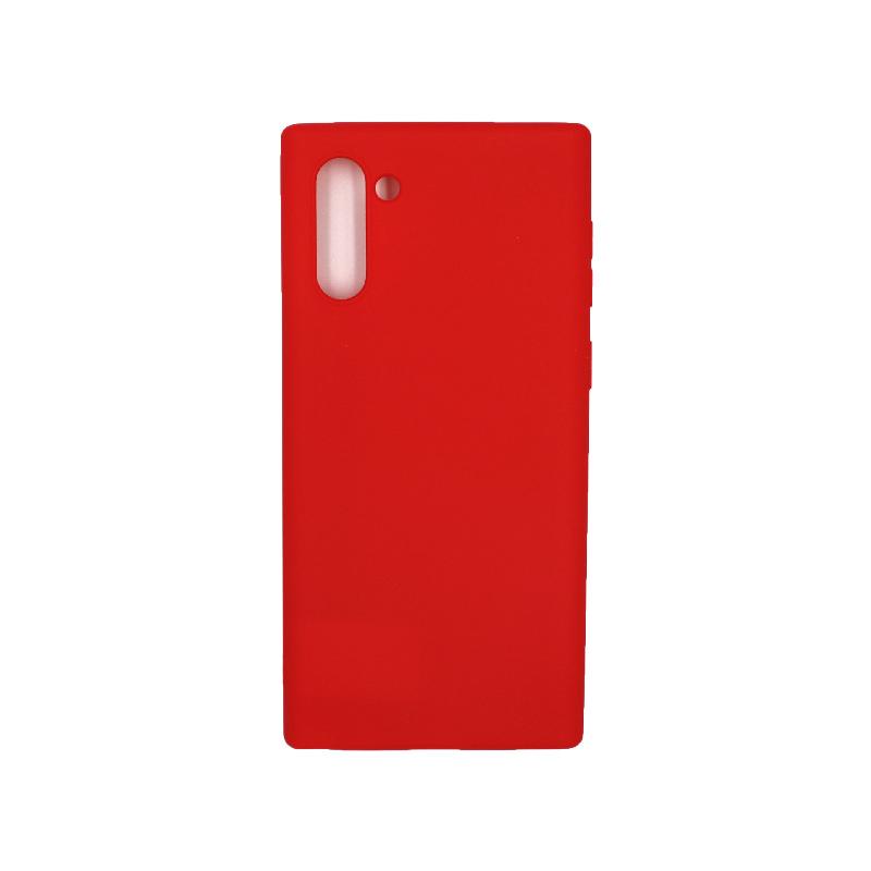 Θήκη Samsung Galaxy Note 10 Σιλικόνη κόκκινο
