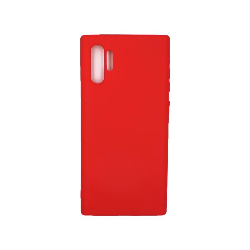 Θήκη Samsung Galaxy Note 10 Plus Σιλικόνη κόκκινο