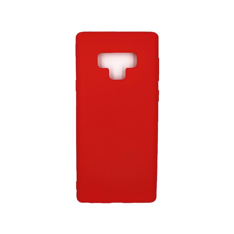 Θήκη Samsung Galaxy Note 9 σιλικόνη κόκκινο