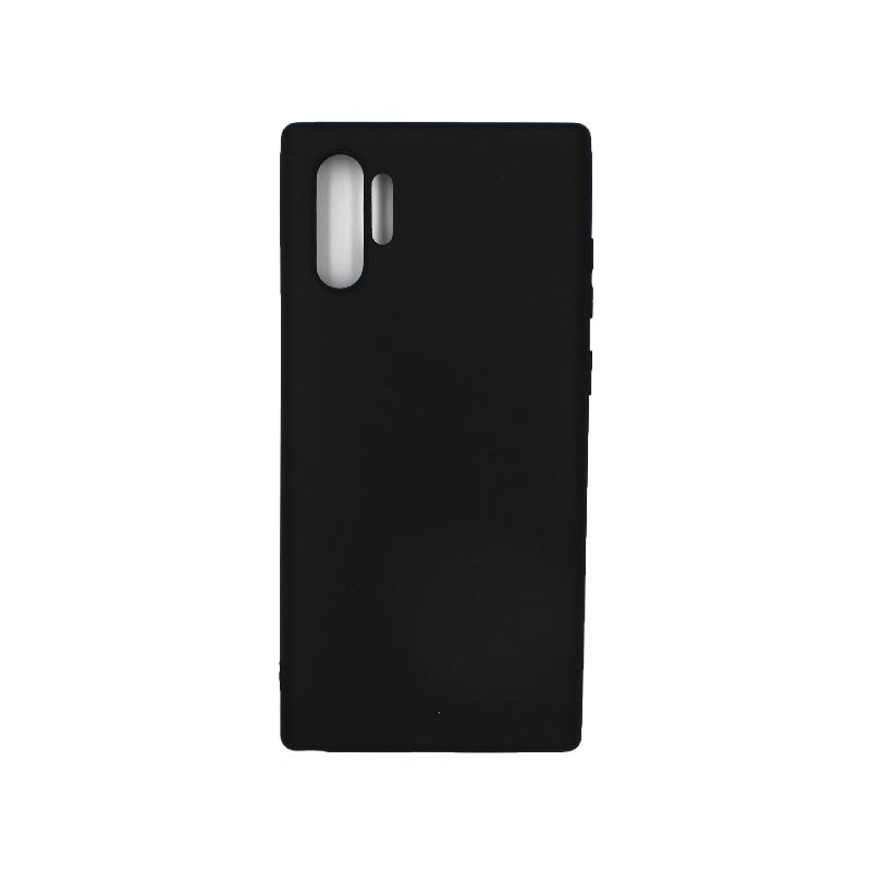 Θήκη Samsung Galaxy Note 10 Plus Σιλικόνη μαύρο
