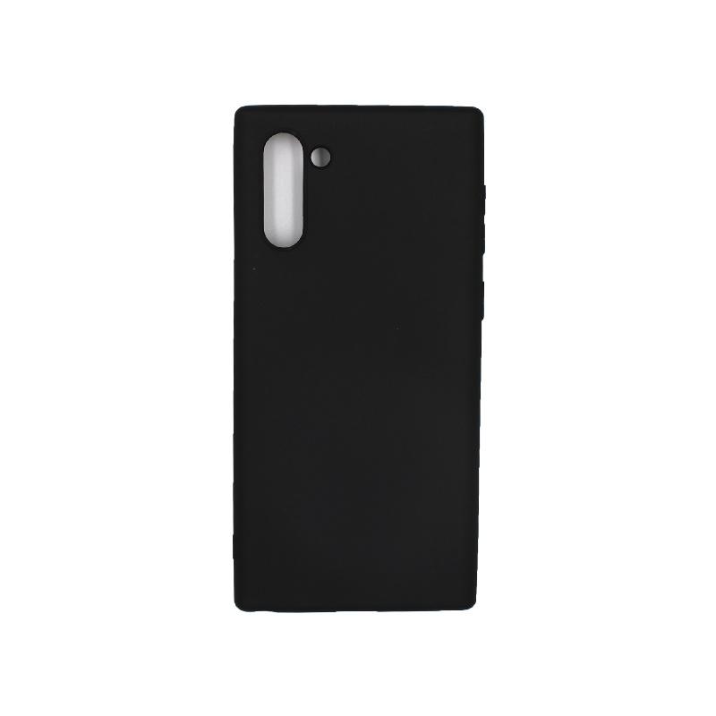 Θήκη Samsung Galaxy Note 10 Σιλικόνη μαύρο