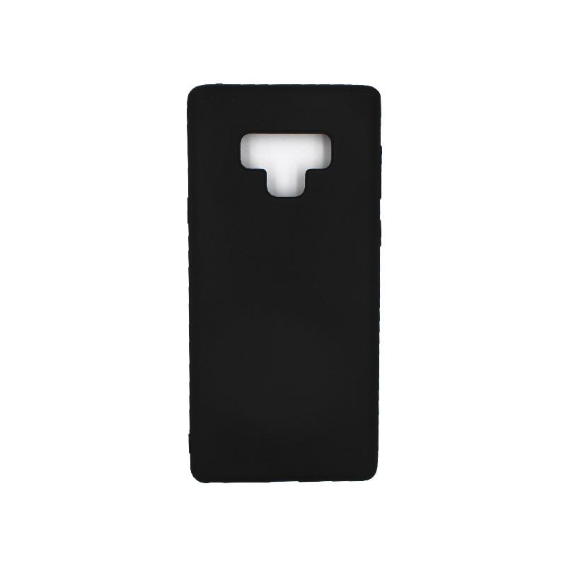 Θήκη Samsung Galaxy Note 9 σιλικόνη μαύρο