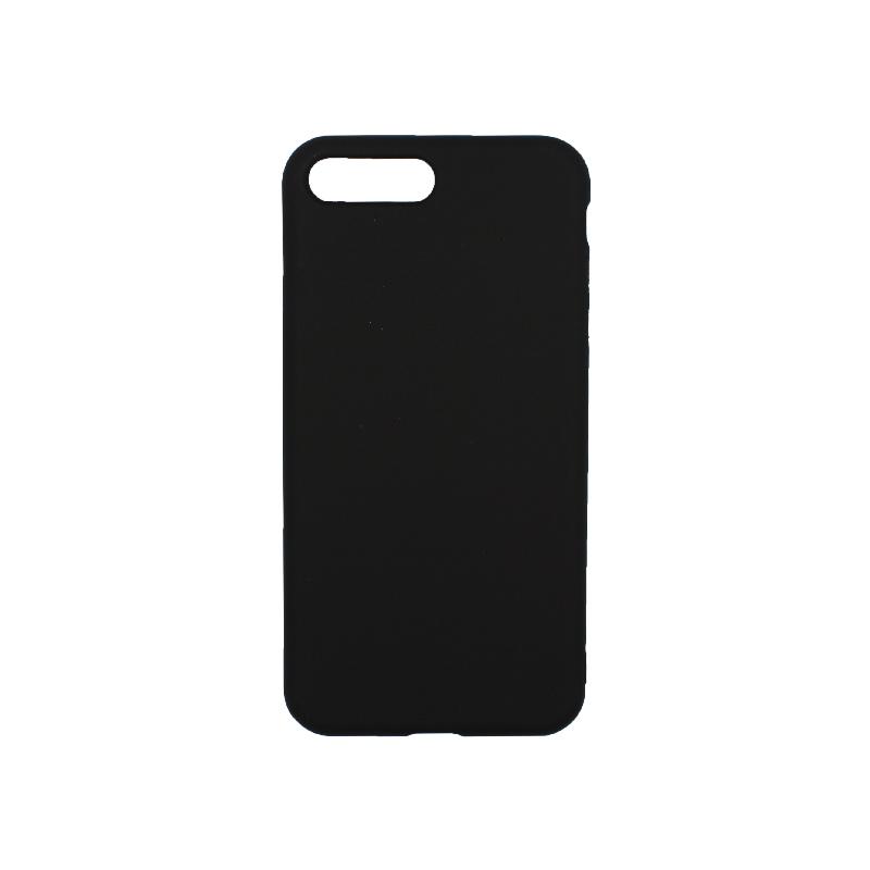 θήκη iphone 7 Plus / 8 Plus σιλικόνη μαύρο 1