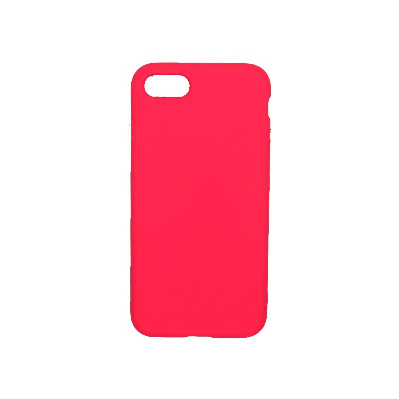 θήκη iphone 7 / 8 σιλικόνη φούξια 1