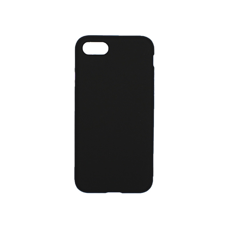 θήκη iphone 7 / 8 σιλικόνη μαύρο 1