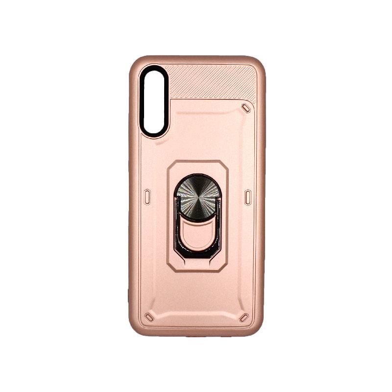Θήκη Samsung A50 / A30S / A50S Με Popsocket ροζ χρυσό 1