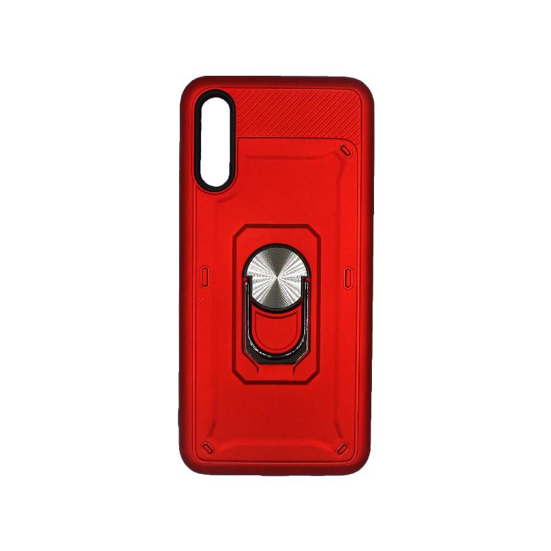 Θήκη Samsung A50 / A30S / A50S Με Popsocket κόκκινο 1