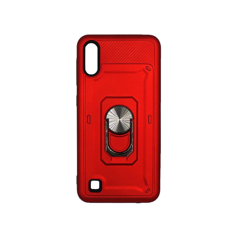 Θήκη Samsung Galaxy A10 / M10 με Popsocket κόκκινο 1