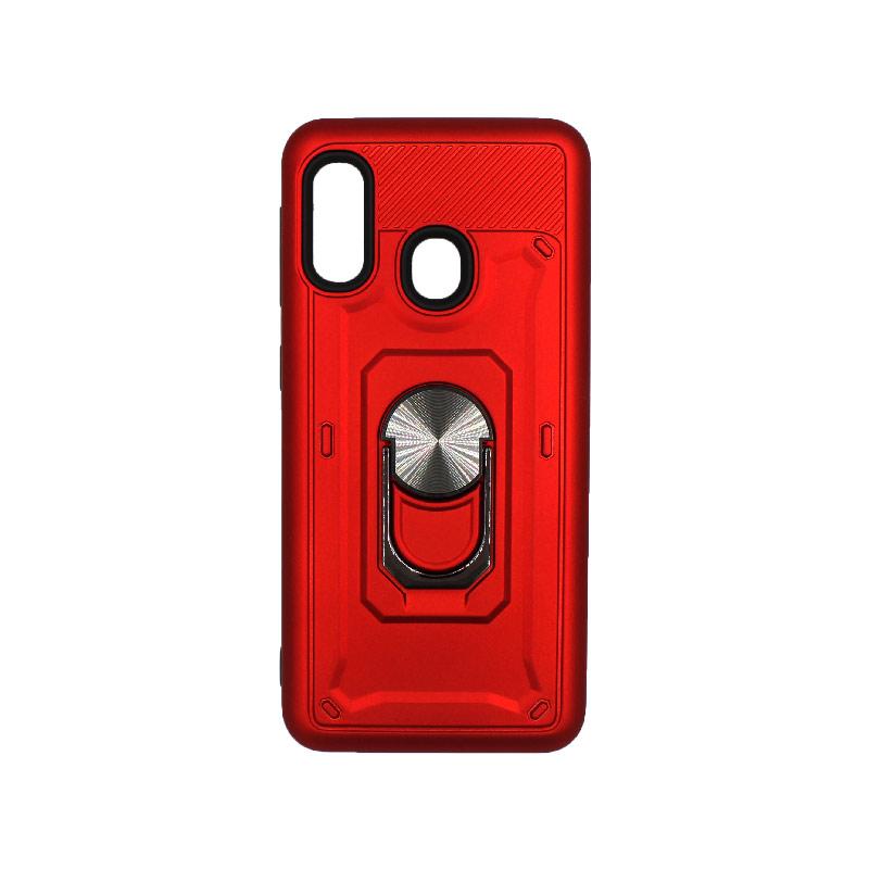 Θήκη Samsung Galaxy A10e / A20e με Popsocket κόκκινο 1