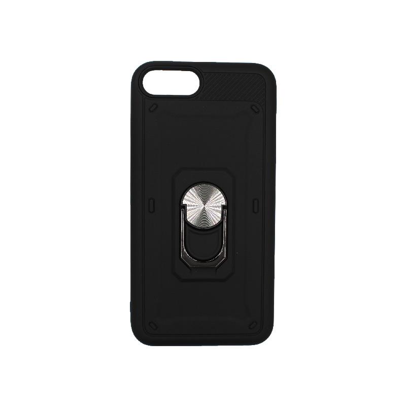 θήκη iphone 7 / 8 σιλικόνη popsocket μαύρο 1