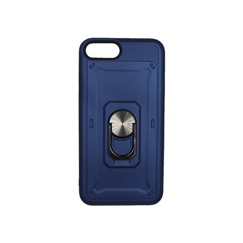 θήκη iphone 7 / 8 σιλικόνη popsocket μπλε 1