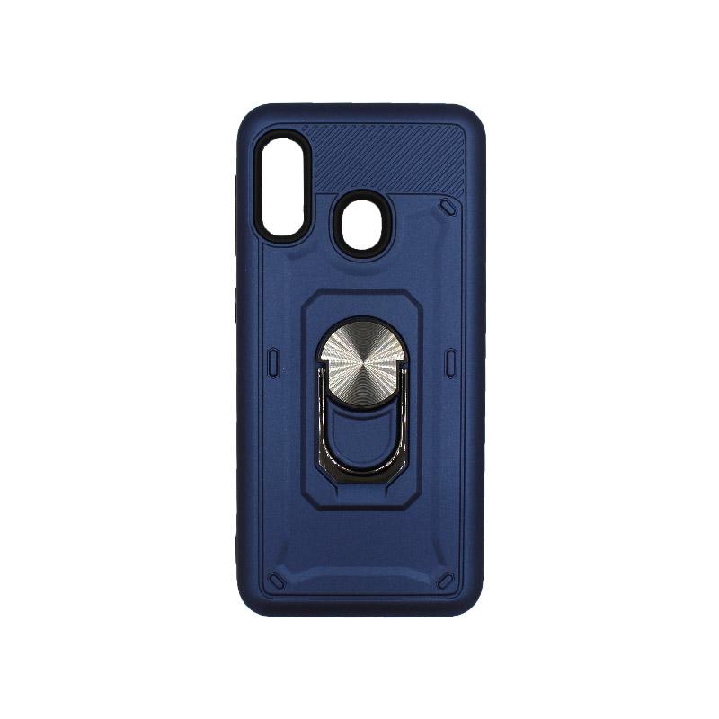 Θήκη Samsung Galaxy A10e / A20e με Popsocket μπλε 1