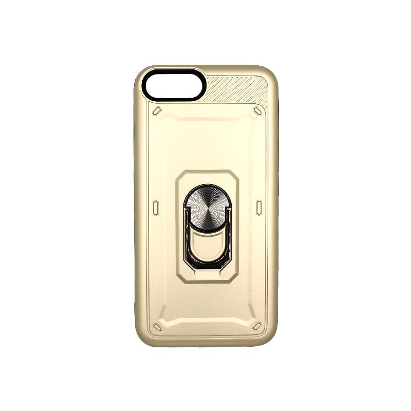 θήκη iphone 7 / 8 σιλικόνη popsocket χρυσό 1