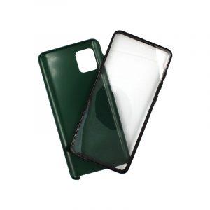 Θήκη Samsung A81 / Note 10 Lite Full Body με Screen Protector πράσινο 1