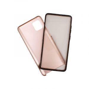 Θήκη Samsung A81 / Note 10 Lite Full Body με Screen Protector ροζ χρυσό 1