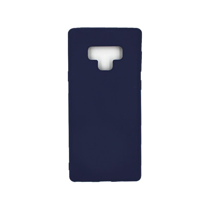 Θήκη Samsung Galaxy Note 9 σιλικόνη μπλε