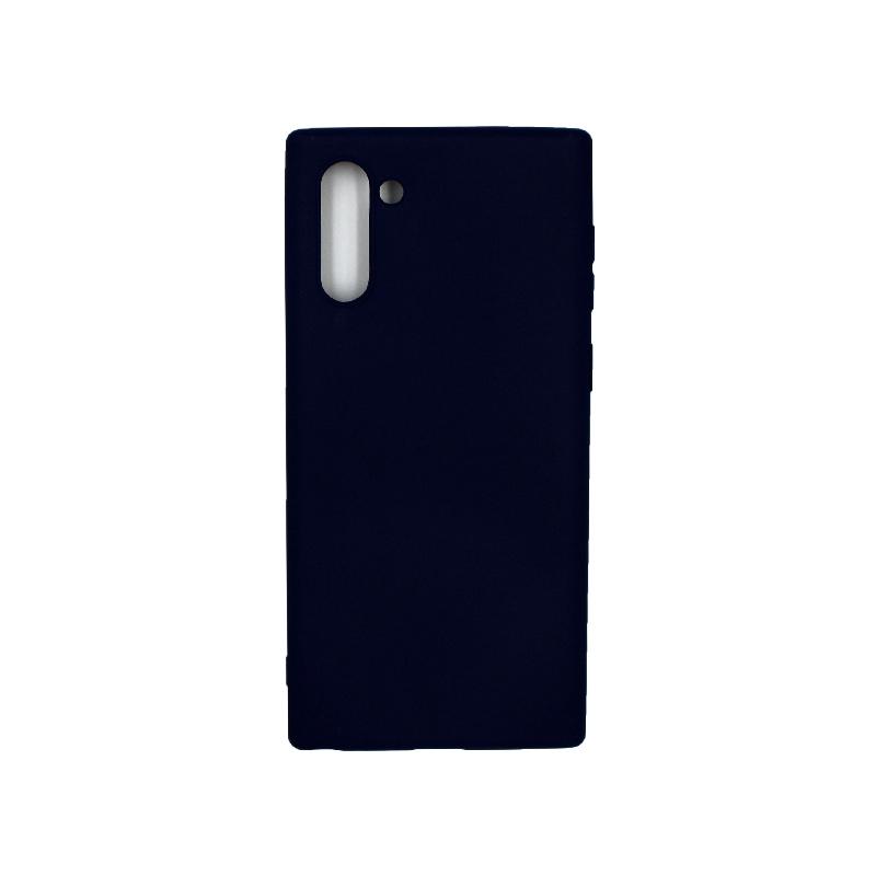 Θήκη Samsung Galaxy Note 10 Σιλικόνη μπλε