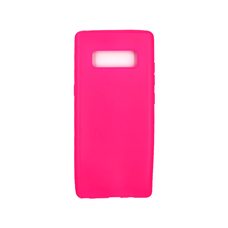 Θήκη Samsung Galaxy Note 8 σιλικόνη neon φούξια