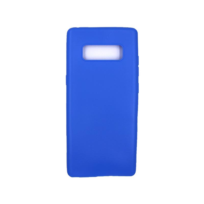Θήκη Samsung Galaxy Note 8 σιλικόνη neon μπλε